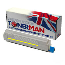 Re-Manufactured Yellow Toner Cartridge for Oki MC860 | 44059209 | 10,000 pages