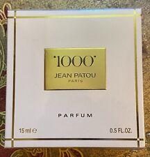 JEAN PATOU 1000 Parfum Extrait Flacon 15ml 1/2oz  SEALED 100% Authentic