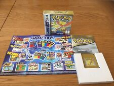 NINTENDO GAMEBOY COLOR POKEMON GOLD - BOXED,TESTED & WORKING