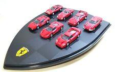 1/72 DyDo Hot Wheels Mattel FERRARI 7 Car SET 246 F40 F50 Enzo 250 GTO 512BB