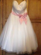 Alfred Angelo 50's Style Tea Length Wedding Dress 12
