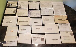 (43) Super Nintendo SNES Registration Reg Card Inserts Lot