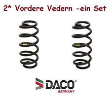 2* Vordere FEDERN für Audi A4 (B6,B7) /Bj.2000-2008/ Orginal Daco Germany 800230
