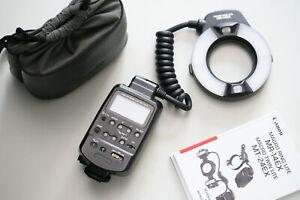 Canon Blitz Speedlite MR-14EX, Ringblitz für Canon EOS digital, A-Zustand!