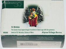 Department Dept 56 Alpine Village St. Nicholas 56203
