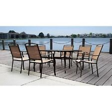 Patio Garden 7 Piece Dining Set Chair Outdoor Furniture Table Yard Aluminum Sale