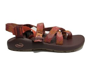 Chaco Women's Zcloud 2, Strappy Sandals-Red, Size US 9M.