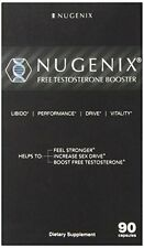 Nugenix Natural Testosterone Booster Capsules, 90 Count Potency Proven To Work