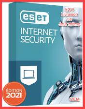 Eset NOD32 Internet Security - 1 appareil / 1 an - Clé globale officielle