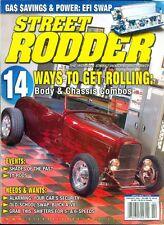 2006 Street Rodder Magazine: Body & Chassis Combos/Gas Savings & Power