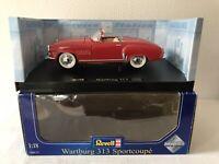 Revell 1:18 Wartburg 313 Sportcoupe Rarität Modellauto Car Geschenk Oldtimer DDR