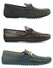 Tod's man's shoes mocassin loafers GOMMINO DRIVER 100% AUTENTHIC M1P2US