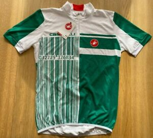 Brand New Original CASTELLI EVASIONE PROSECCO CYCLING Jersey L