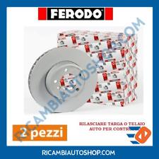 2 DISCHI FRENO ANTERIORE FERODO FORD FIESTA VI VAN