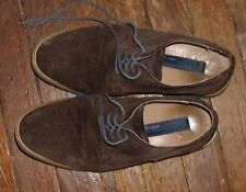 JOSEPH ABBOUD BROWN SUEDE WING TIP SHOES -10 !!