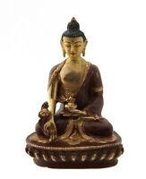 Soprammobile Tibetano Budda Ratnasambhava Medicina Rame Nepal Budda AFR9-1647