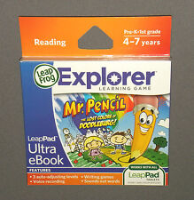 Mr Pencil The Lost Colors of Doodleburg eBook Leap Frog LeapPad 2 Game NEW