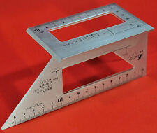 Japanese SHINWA Square Layout Miter ruler 45 + 90 Degrees équerre Winkel 62113