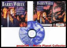 """BARRY WHITE """"Under the influence of love"""" (CD) 2000"""