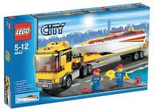 Lego City Porto 4643 Transporter di Motoscafi Fuori Produzione Raro Introvabile