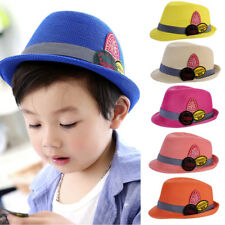 Summer Kids Baby Boy Girls Hat Sport Hiking Cap Breathable Hat Show Hats Caps UK