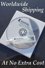 Brillante Blu-ray Lentes/láser Limpiador / Limpieza Disco - húmedo y seco