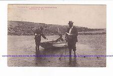 KANGAROO ISLAND    Mullet Catching CHRISTMAS COVE    pu 1907   SOUTH AUSTRALIA