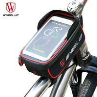 Bike Cycling Top Front Tube Frame Bag Pouch TouchScreen Phone Case Waterproof
