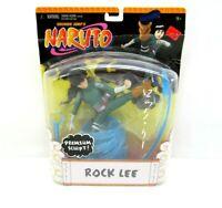 2006 Mattel Shonen Jump's Naruto Rock Lee Premium Sculpt Figure New