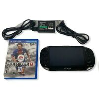 Sony PlayStation Vita PCH-1001 Handheld Console 8 GB Memory With FIFA Soccer 13