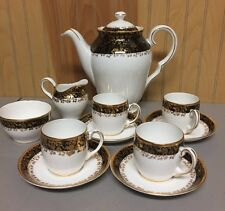 Vintage Royal Tara Fine Bone China 12 Piece Tea Set~Excellent!!