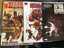 Deadpool Wade Wilson's War Prelude To And Retune Of The Living Graphic Novel Set