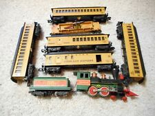 S SCALE AMERICAN FLYER #21088 4-4-0 STEAMER AND CARS SET