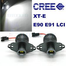 BMW E90 E91 LCI 2008 2009 2010 2011 LED Angel Eyes Upgrade Halo Rings Bulbs Kit