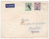 1964 Aug 25th. Air Mail. Perth to Gossau, Switzerland.