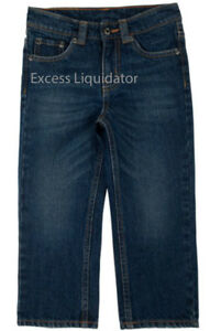 Lee Boys Dungarees Relaxed Fit Pants, Sure 2 Fit Adjustable Waistband