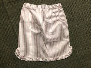 Creatures Of Comfort Adult Womens 2 Skirt Red White Stripe Cotton