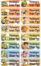 40 TOY STORY Custom Waterproof Name Labels-SCHOOL,DAYCARE,CAMP(Buy 5 get 1 FREE)