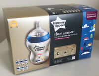 Tommee Tippee Closer To Nature Toot Toot Baby Bottle - 6 x 260ml