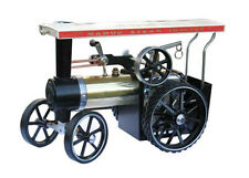 Mamod TE1AB Live Steam Traction Engine, Brass Finish - Ready Built Working Model