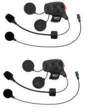 Sena SMH5D-UNIV Bluetooth Headset & Intercom for Scooters and Motorcycles - Dual Pack