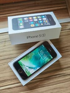 Apple iPhone 5S 16GB Space Grey UNLOCKED 4G Genuine Smartphone with original BOX
