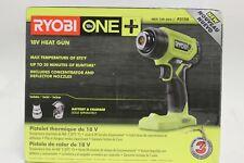 RYOBI ONE+ 18 VOLT HEAT GUN MAX TEMP. 875 DEGREES F (TOOL ONLY) P3150