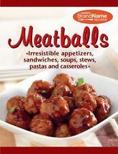 Meatballs - Favorite Brand Name Recipes (Cookbook)  (2011, Spiral)