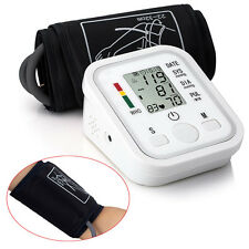 New Automatic Digital LCD Arm Cuff Blood Pressure Pulse Monitor Sphgmomanometer1