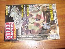 $$$ Revue Steel Masters N°76 Sherman Crab  Konigsberg 1945  Hotchkiss H-39  M113