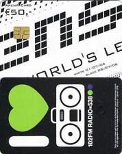 Arenakaart A075-01 50 euro: Sensation