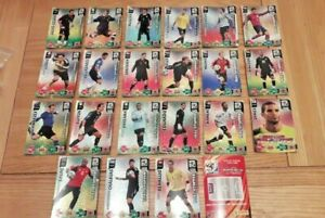 Part Set 22 / 25 x Panini Adrenalyn XL World Cup 2010 Foiled Goal Stopper Cards