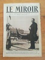 JOURNAL LE MIROIR N°185 1917 Kerensky LAffaux Juvincourt Craonne Aviateur Madon