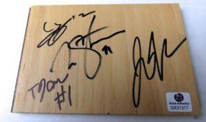 Okafor Henderson McConnell Stauskas Signed Autographed Floor Piece 76ers GX31377